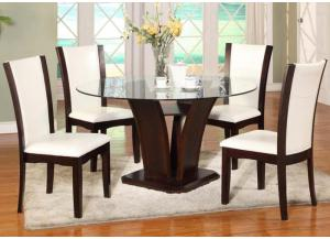 San Sorento 5 Pc Dining Room - White