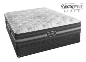 Simmons Beautyrest Black Desiree Plush - queen