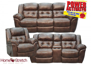 Oxford Power Reclining Collection - Espresso