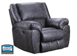 Shiloh rocker recliner - gray