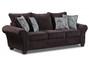 Trinidad Tobago sofa - chocolate
