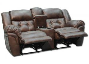 Oxford Reclining Loveseat by Homestretch - Espresso