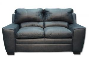 Mystique Loveseat  by Simmons Upholstery - granite
