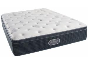 Simmons BeautyRest Silver Seaside Plush Eurotop - Full