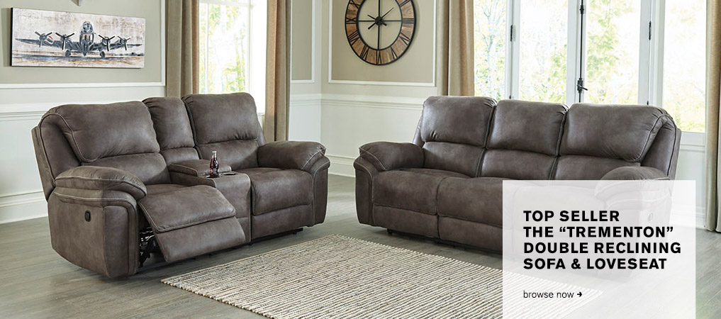 Trementon Reclining Sofa & Loveseat