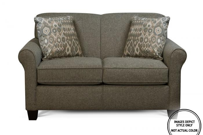 Lila Loveseat,Image Depicts Style