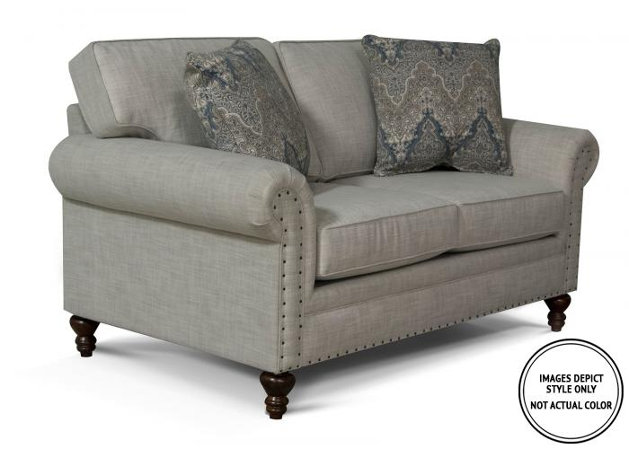 Finley Loveseat,Image Depicts Style