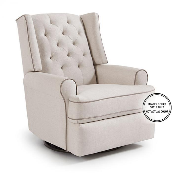 Karly Swivel Glider Recliner,Image Depicts Style