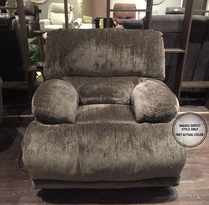 Alexa Power Wall Hugger Recliner,Image Depicts Style