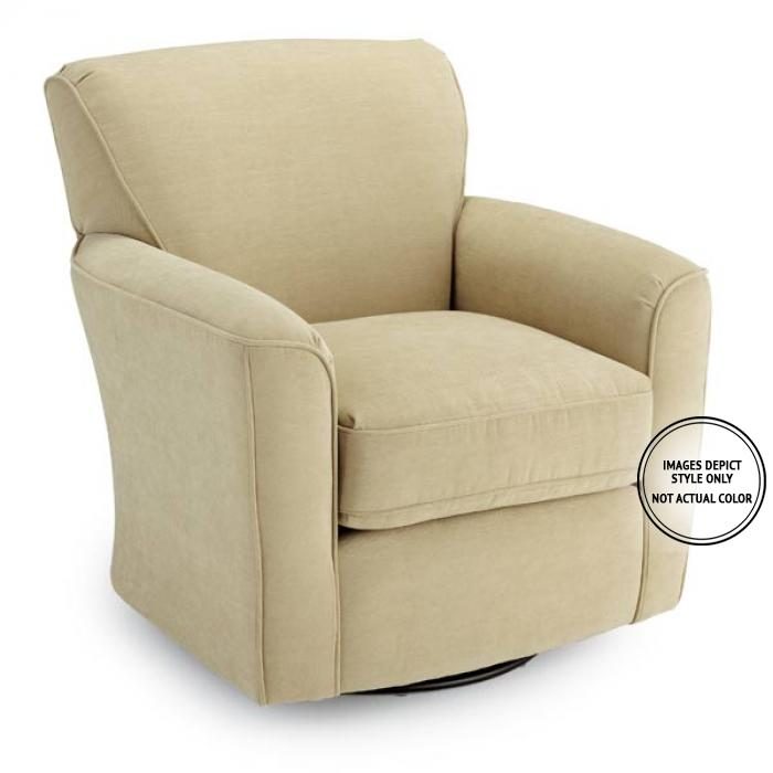 Lana Swivel Chair,Image Depicts Style