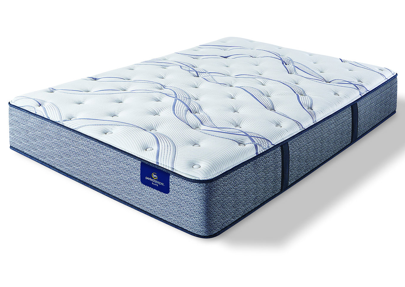 Trelleburg II Plush Queen Mattress,Serta