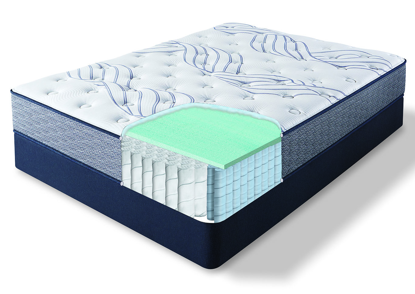Kleinmon II Plush Twin XL Mattress,Huffman Koos