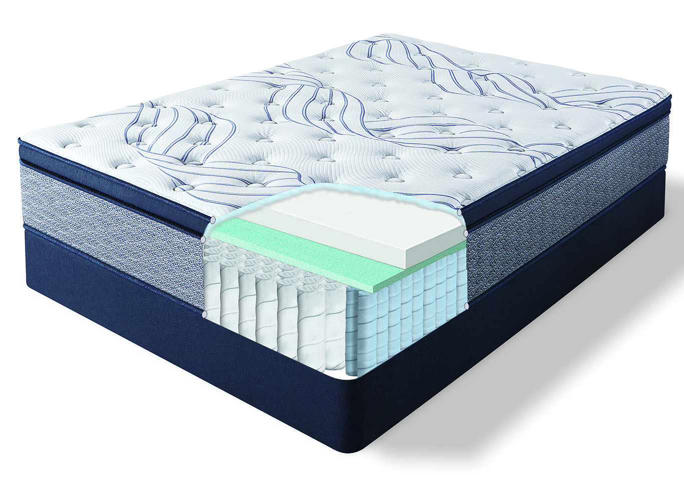 Kleinmon II Pillow Top Firm California King Mattress,Serta