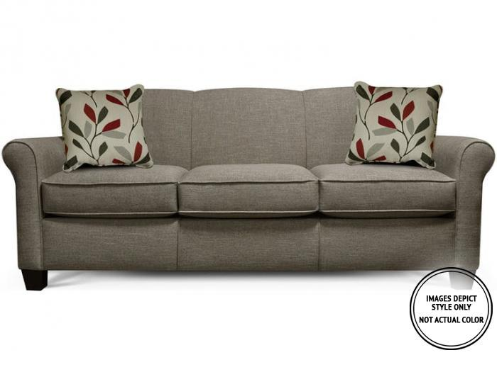 Lila Sofa,Image Depicts Style