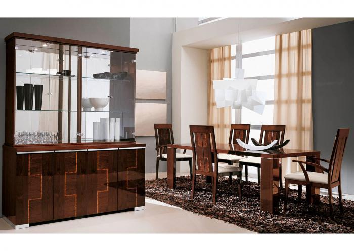 VENICE 8PC DINING ROOM PKG,Huffman Koos