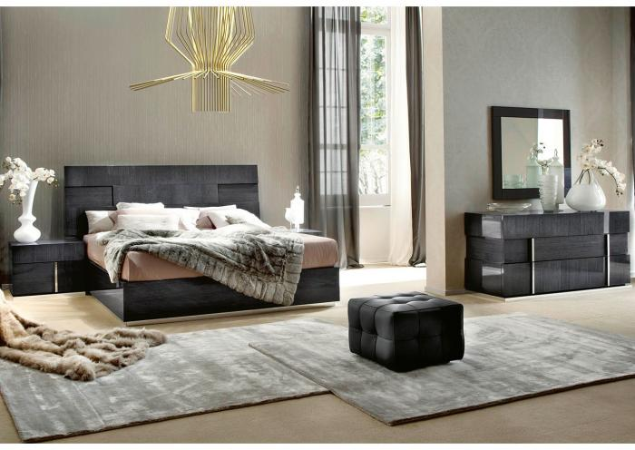 SOPRANO 5PC QUEEN BEDROOM PKG,Huffman Koos