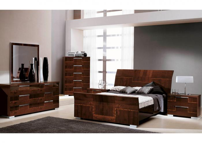 VENICE 4PC KG BEDROOM PKG,Huffman Koos