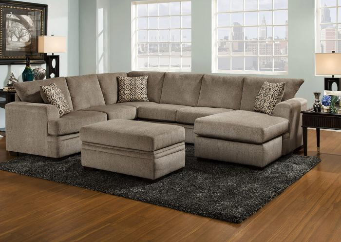 Surprising Huffman Koos Furniture Lacey 2 Pc Sectional Pewter Raf Sofa Pdpeps Interior Chair Design Pdpepsorg