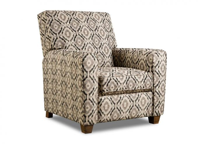 Lacey Pattern Recliner,Huffman Koos