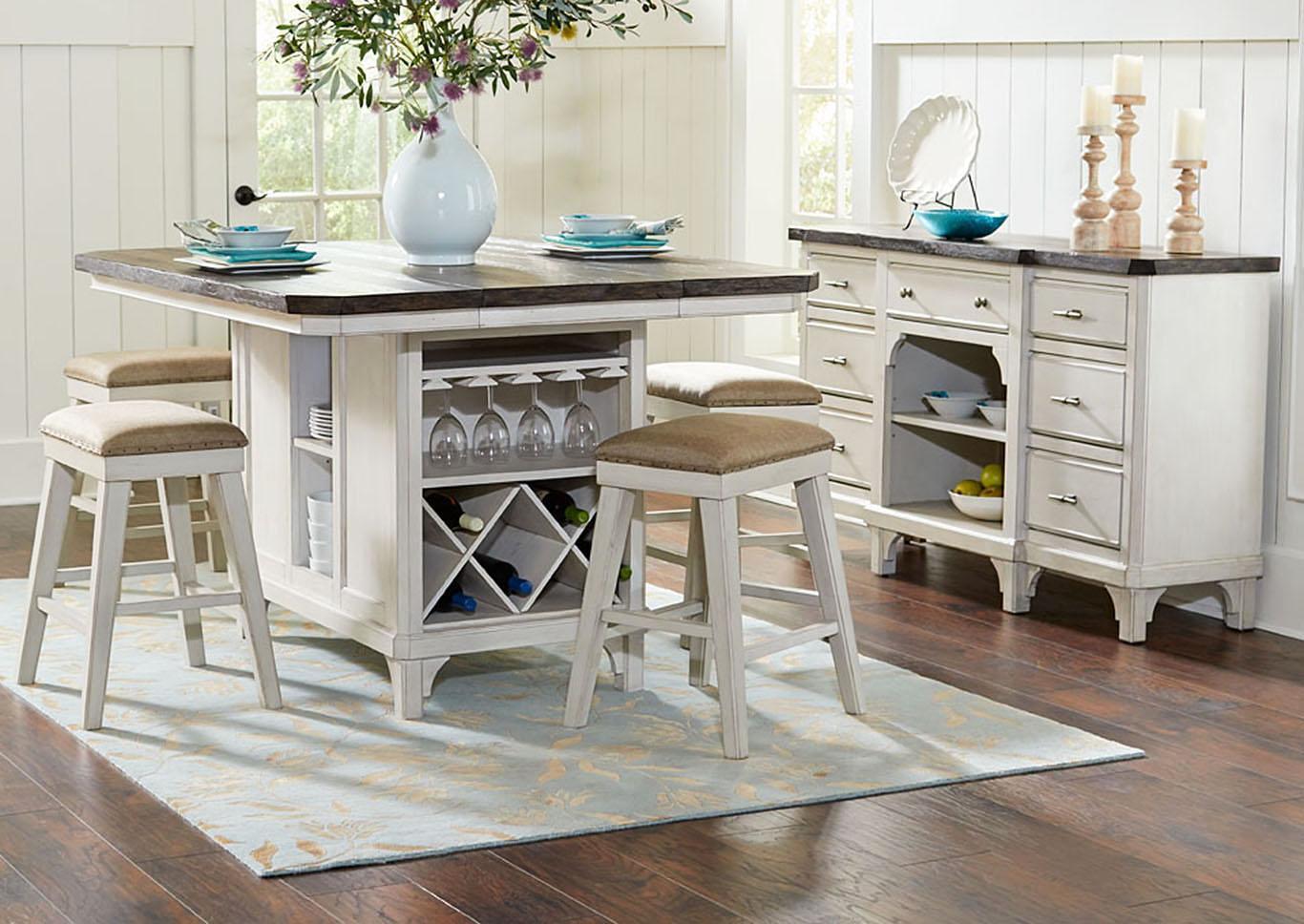 Huffman Koos Furniture Kitchen Island table