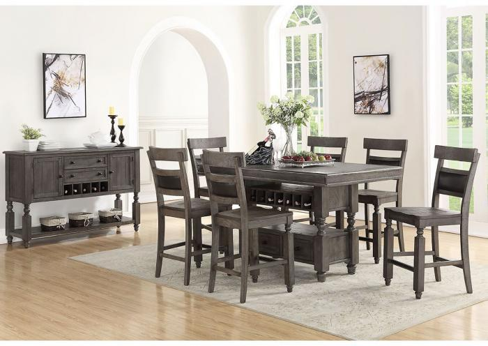 Stony Point 8PC Dining Package,Huffman Koos