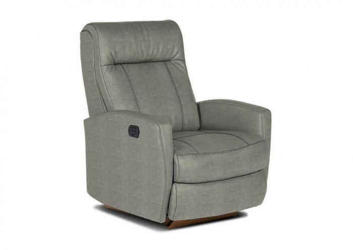 Roby II Pwr Recliner Chair Smoke,Huffman Koos