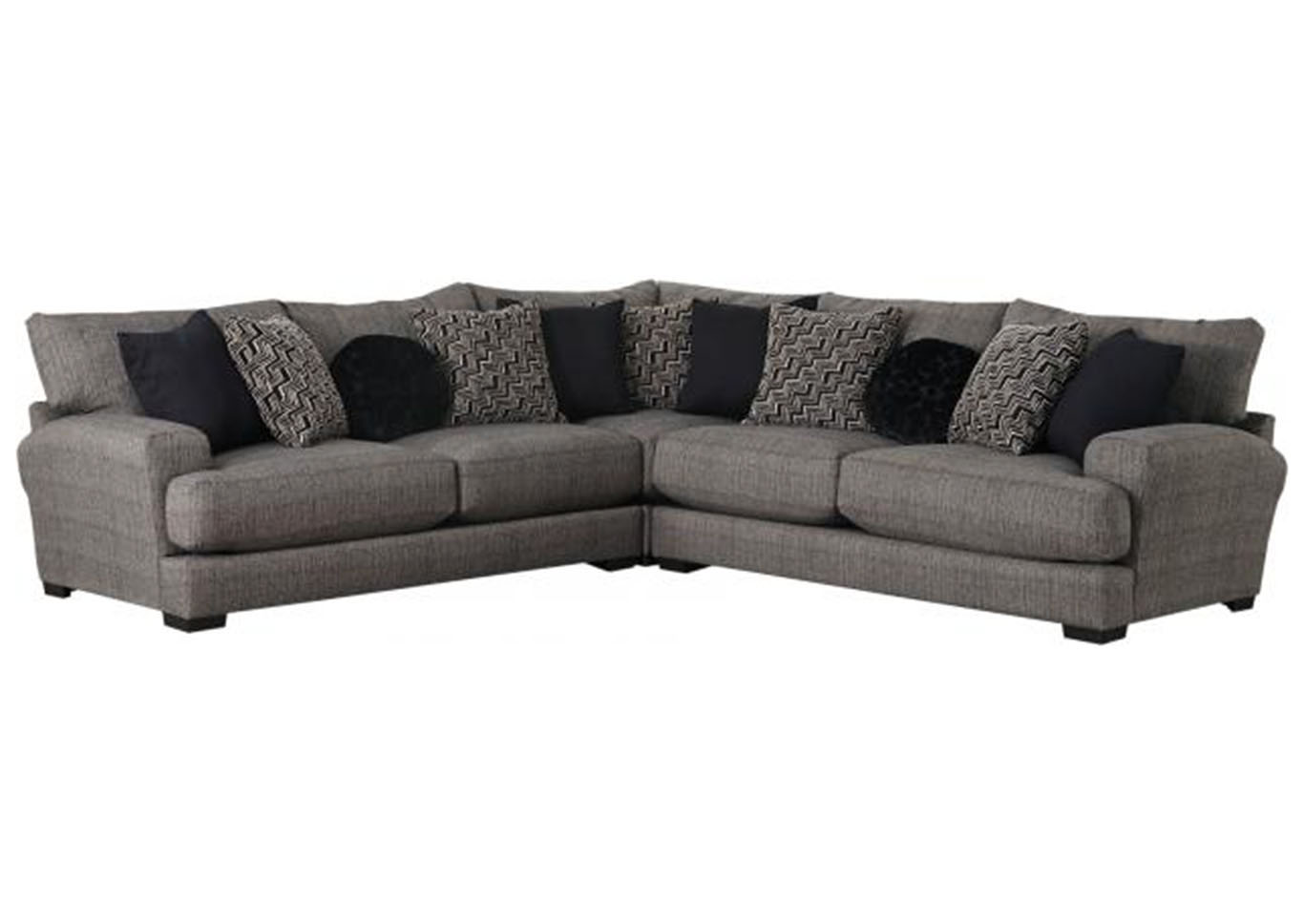 Bolero 3 Pc Sectional W/USB Port,Huffman Koos