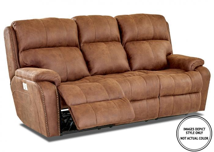 Leo Power Motion Sofa,Image Depicts Style