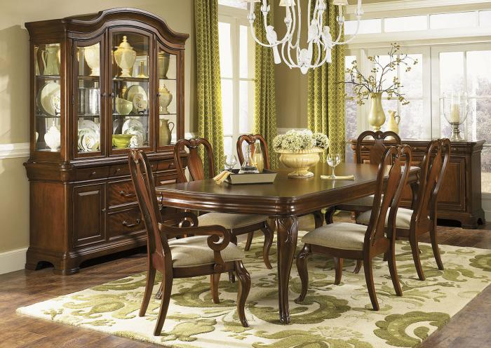 Villa Grand 8PC Dining Romm Pkg,Huffman Koos