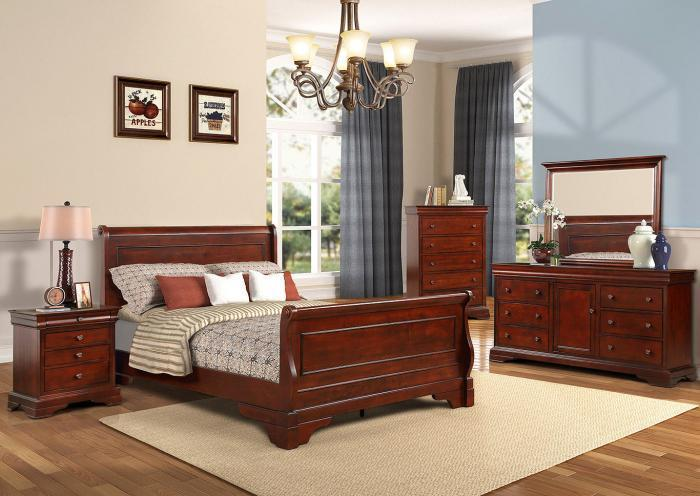 Carlisle 4PC FL Bedroom Pkg,Huffman Koos