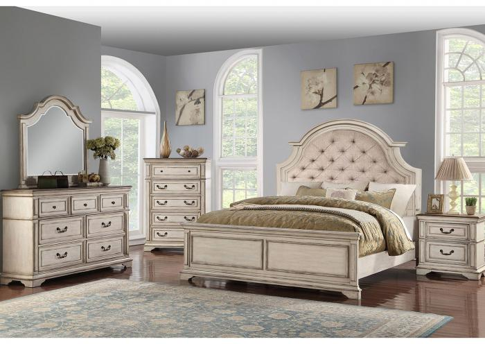 Chavelle 4PC QN Bedroom Pkg,Huffman Koos