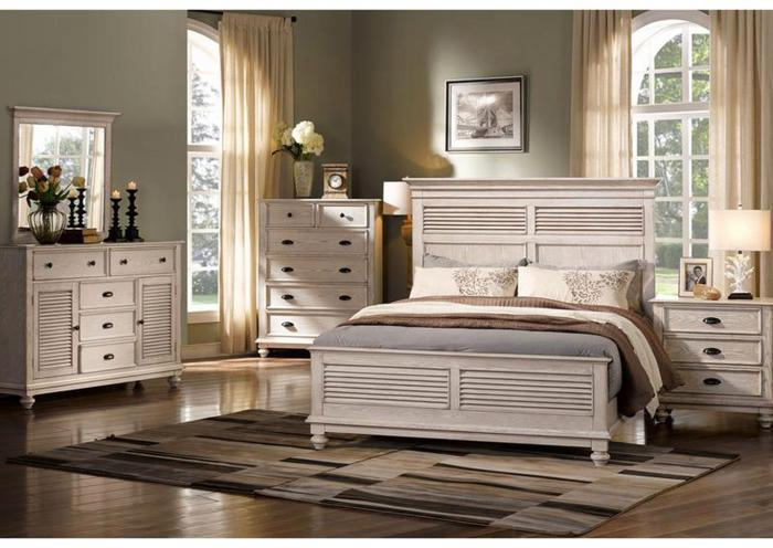 Huntington 4PC QN Bedroom Pkg,New Classic