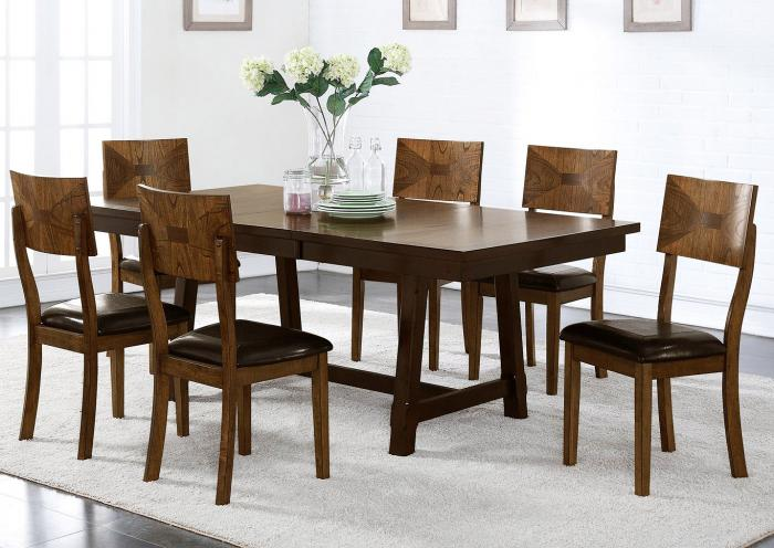Mason 5PC Dining Package,New Classic