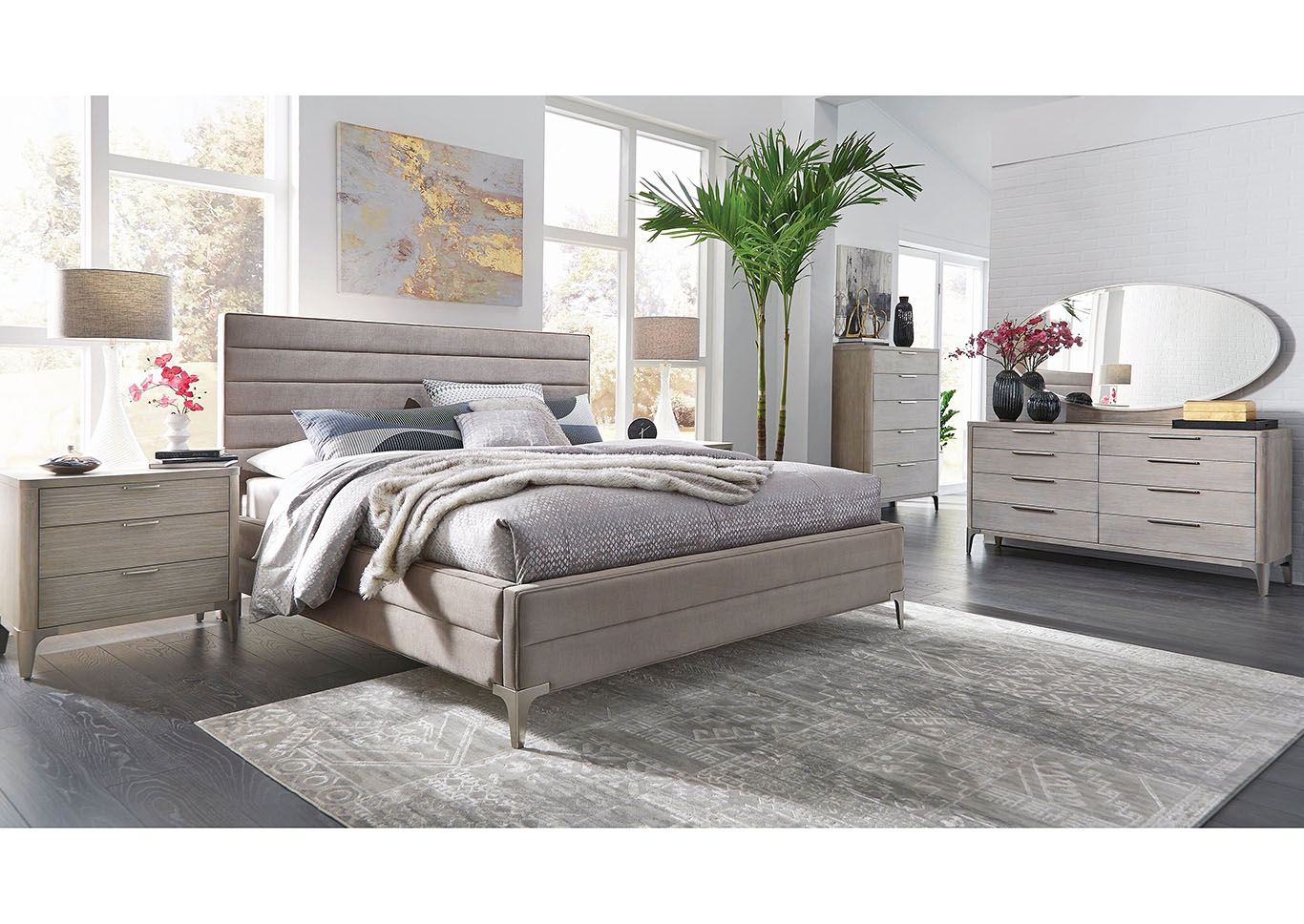 Sasha 4PC Qn Bedroom Pkg,Palliser