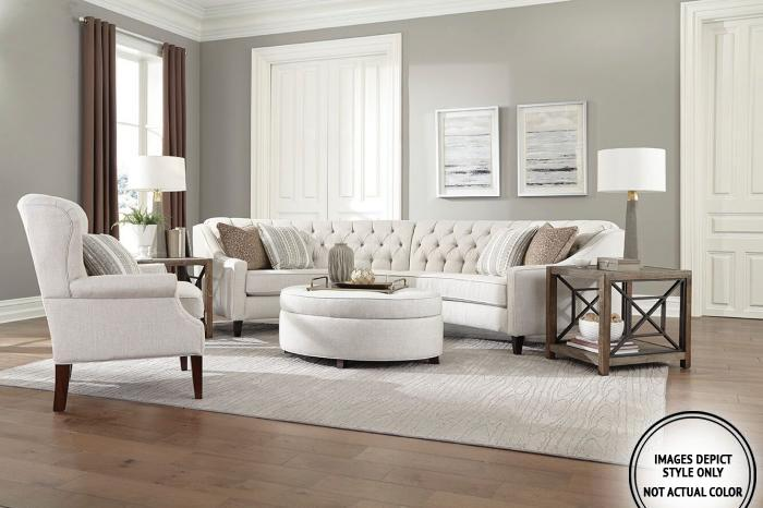 Lexy 2PC Sectional Pkg,Image Depicts Style