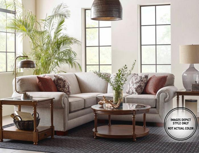 Tatum 2PC Sectional Pkg,Image Depicts Style