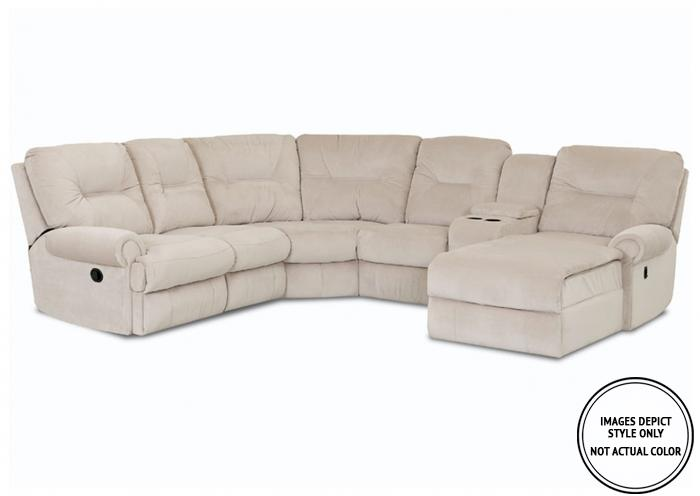 Winston IIII 5PC Sectional emp ash,Image Depicts Style