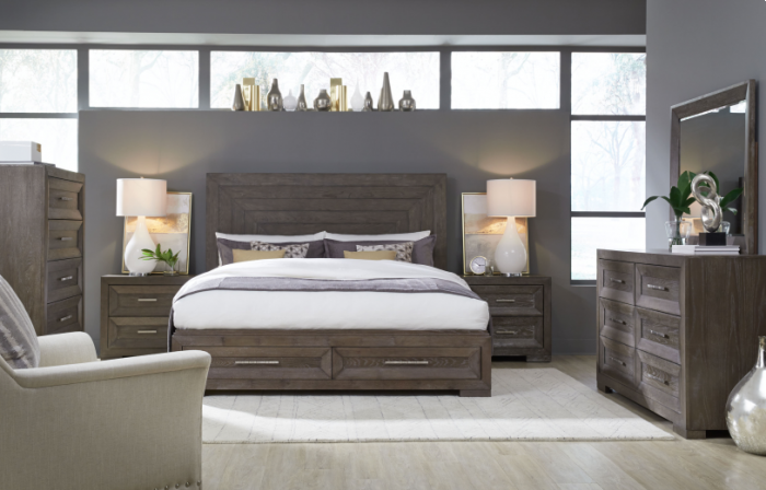 Astoria 4PC Queen Bedroom Package,Huffman Koos