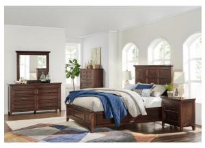 Webster 4PC Queen Bedroom Pkg