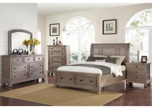 Nautica 4PC QN Bedroom Pkg