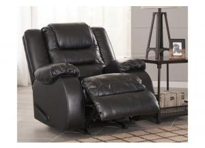 Capri Recliner Chair Black
