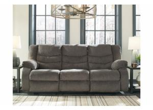 Stuart Reclining Sofa Gray