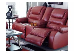 Image for Capri Recliner Loveseat Salsa