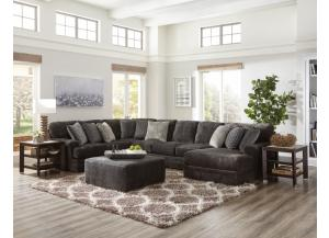 Audrey 3PC Sectional Smoke