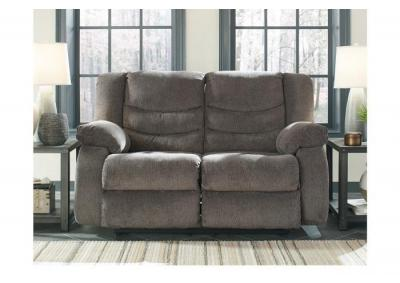 Image for Stuart Reclining Loveseat Gray