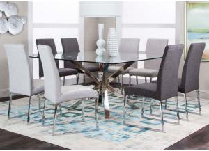 Patricia 5PC Dinette Pkg Light Grey