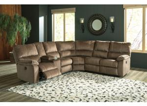 Marco 3PC Sectional Mocha