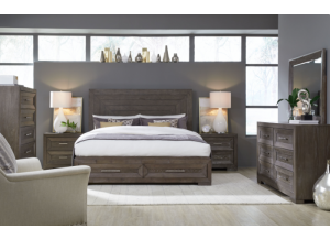 Astoria King Storage Bed
