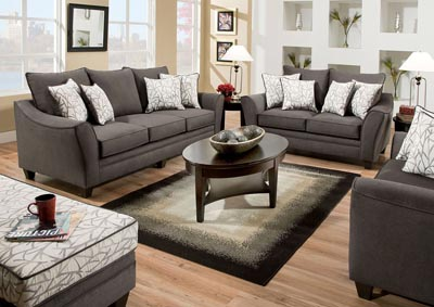 Image for Jeremy Grey Loveseat