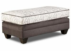 Image for Jeremy Grey Ottoman